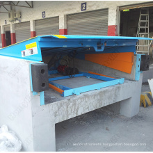 Mechanical Operation Steel Edge Dock Leveler